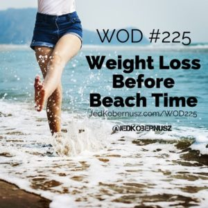 Weight Loss Before Beach Time