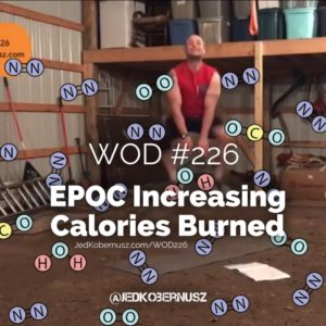 EPOC Increasing Calorie Burned