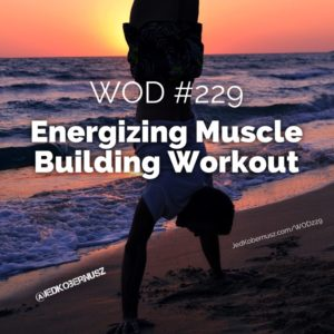 Energizing Muscle Building Workout