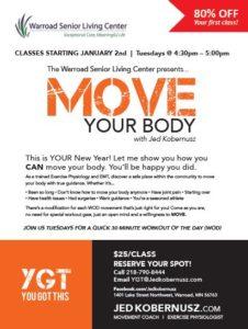 Warroad Senior Living Center Presents Move Your Body