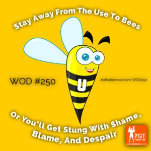 Stay Away From The Use To Bees