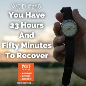 23 Hours And Fifty Minutes To Recover