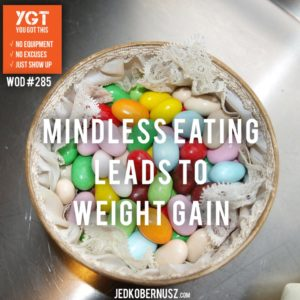 Mindless Eating Leads To Weight Gain