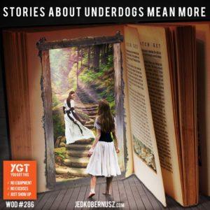 Stories About Underdogs Mean More