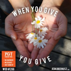 When You Give You Give
