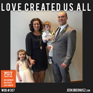 Love Created Us All