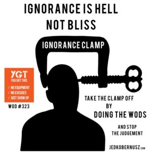 Ignorance Is Hell Not Bliss