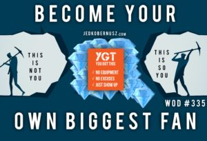 Become Your Own Biggest Fan