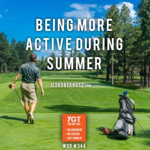 Being More Active During Summer