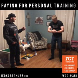 Paying For Personal Training