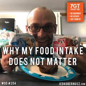 Why My Food Intake Does Not Matter