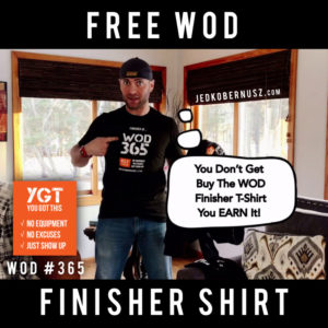 Free WOD Finisher Shirt