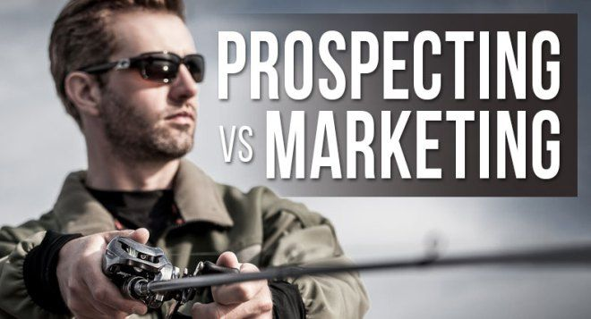 Prospecting vs Marketing