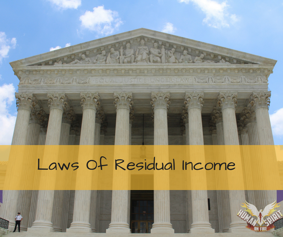 Laws Of Residual Income