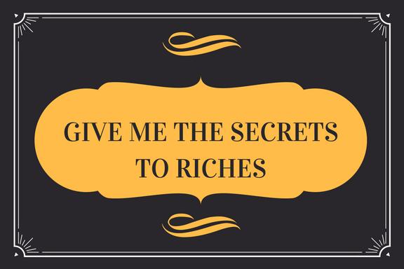 Give me the secrets