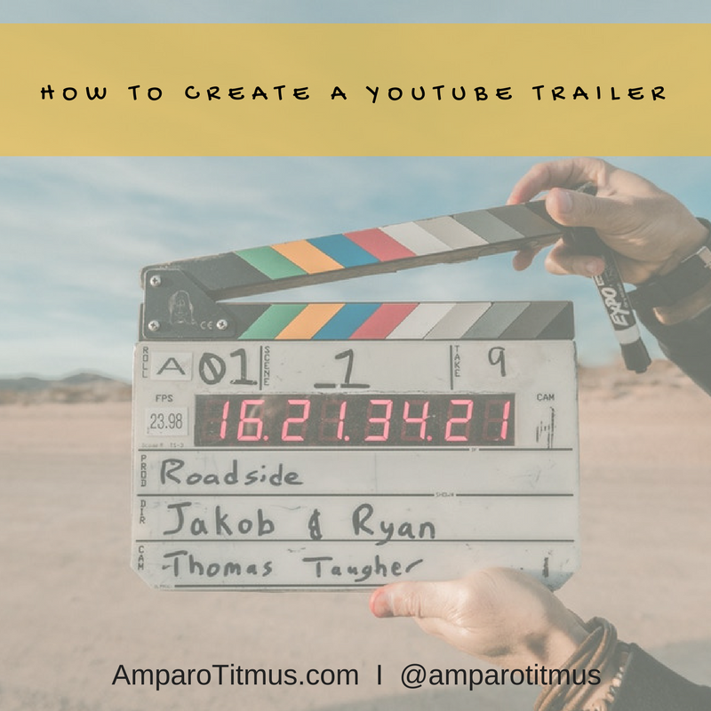 How To Create A Youtubevideo Trailor (2)