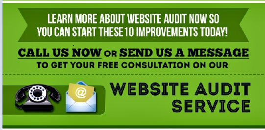 Website Audit - contact us - plain