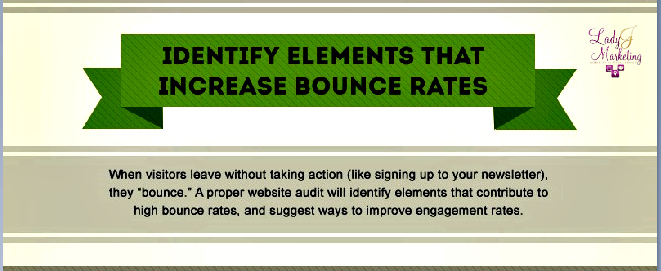 LJ-Website Audit - Identify Elements that Increase Bounce Rates