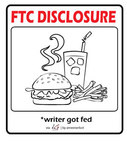 FTC Food Disclosure