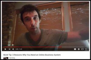 kyle 3 reasons online business framed