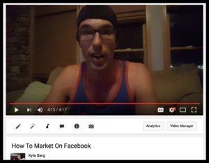 kyle how to market facebook