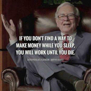 make money while you sleep