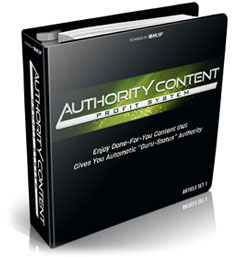 AUTHORITY CONTENT PROFIT