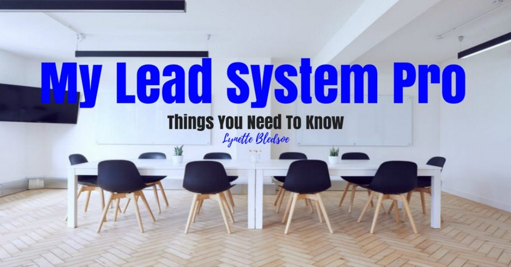 My Lead System Pro (MLSP) - Things You Need To Know