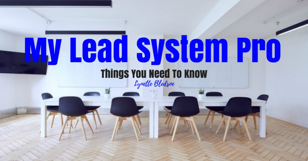 My Lead System Pro (MLSP) – Things You Need To Know