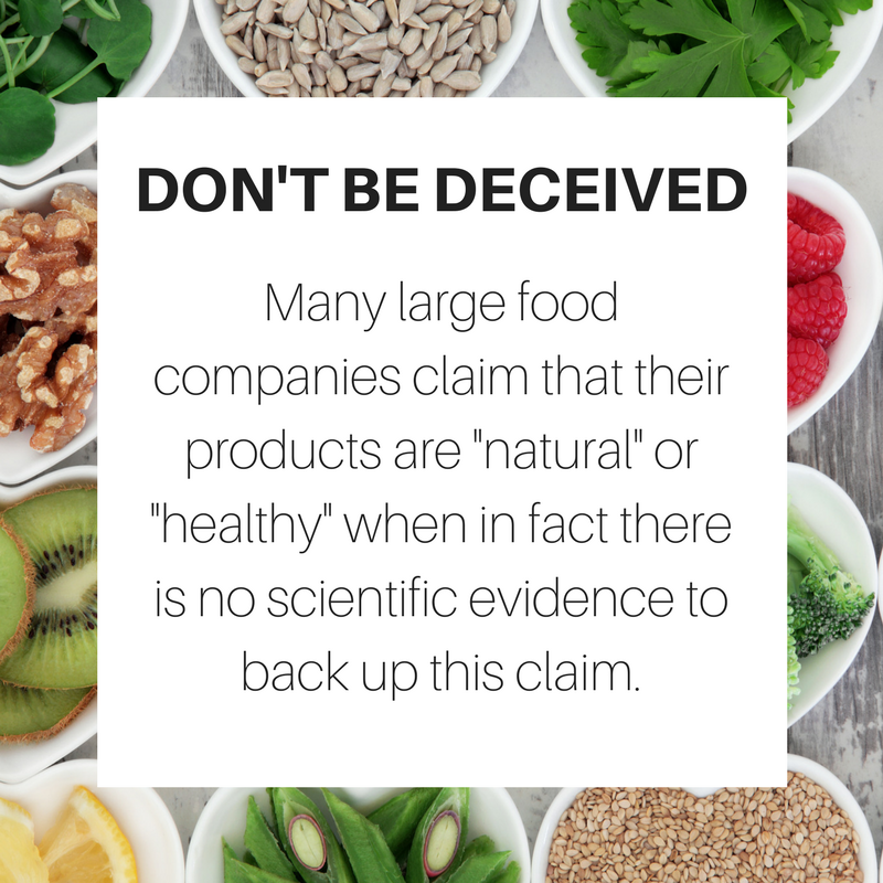 food mislabeling