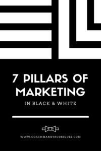 7 PIllars of Marketing