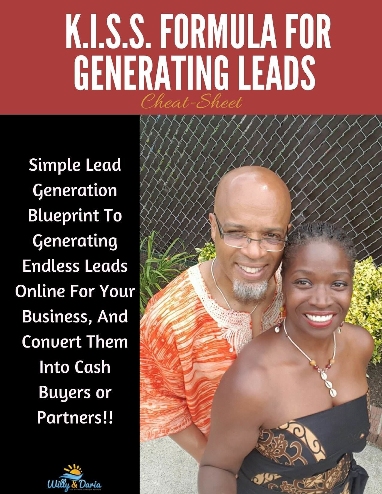 My K.I.S.S. Formula for Generating Targeted Leads