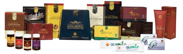 organo gold products