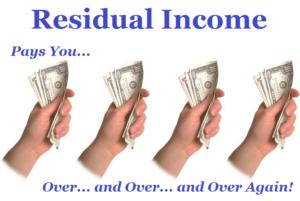 passive residual income