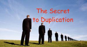 network marketing Duplication