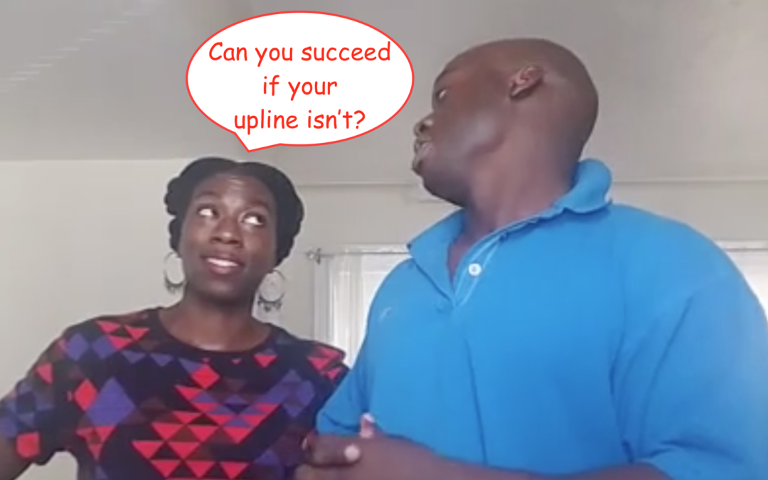 Network marketing success can you succeed if you're upline has no results
