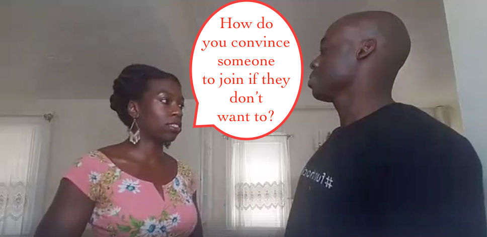 How to recruit mlm prospects that aren't interested in joining