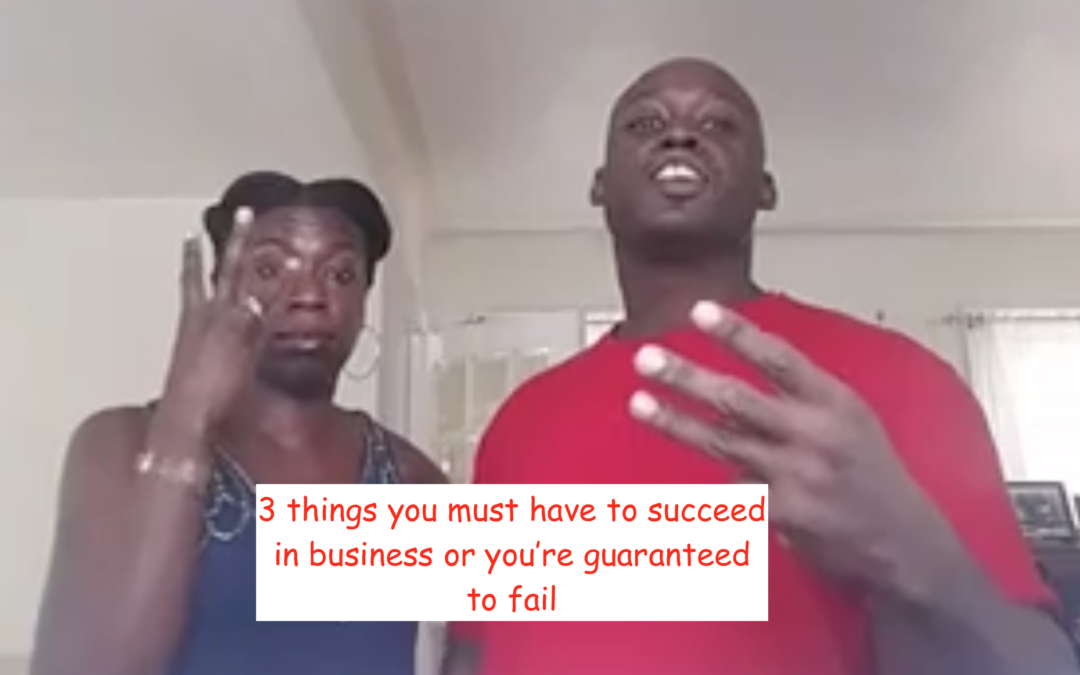 MLM success isn't possible if you're missing anyone of these 3 things