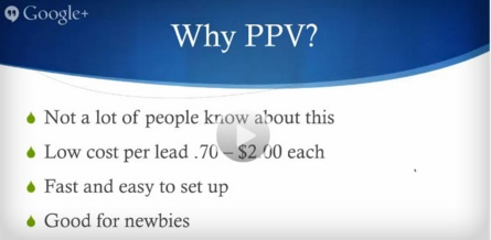 why ppv MLM Free Training