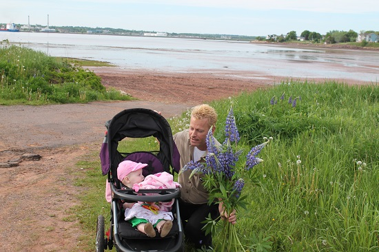 In Stratford, PEI - go out for walks family success tips