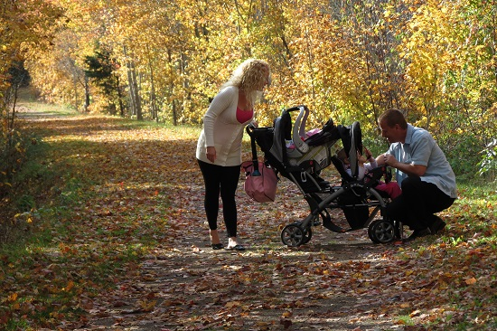 On confederation Trail in Emyvale - go out for walks family success tips