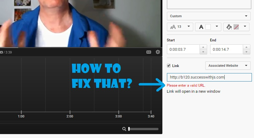 How to Add Many Associated Web Sites to Youtube-image