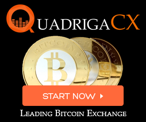 Trade Bitcoin at QuadrigaCX