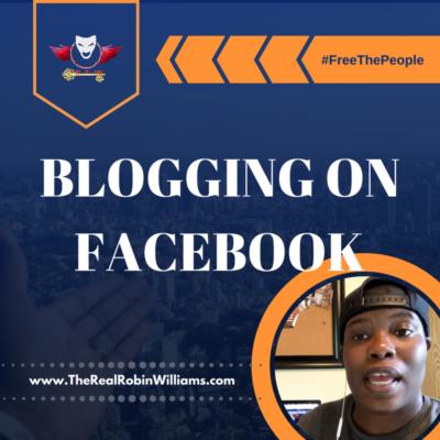 Blogging on Facebook