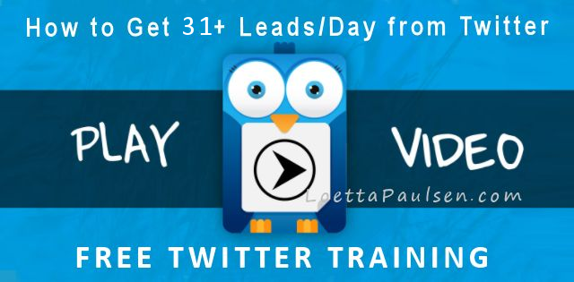 get more leads on Twitter