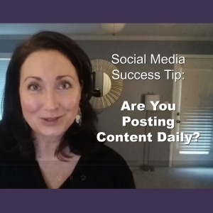social media success tip - content