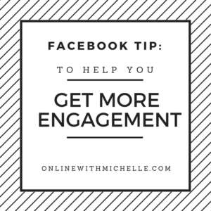 facebook tip for engagement