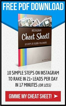 Instagram Cheat Sheet