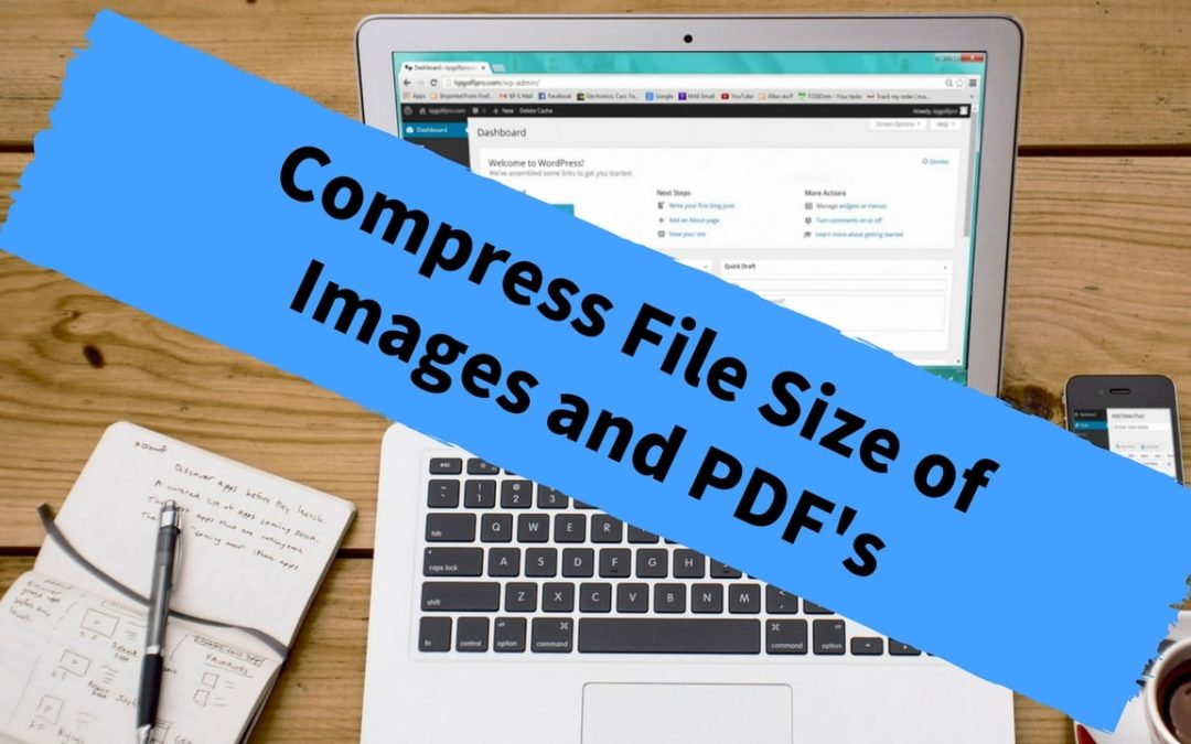 Compress File Size of Images and PDF's