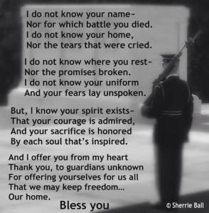 veterans poem